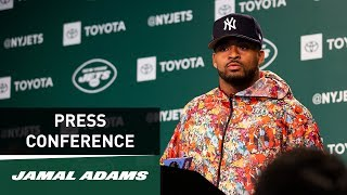 Jamal Adams Postgame Press Conference (at Patriots) | New York Jets | NFL