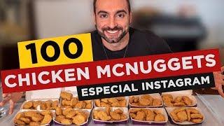 Desafio dos 100 Chicken McNuggets!