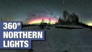 Stunning 360 Degree Video of Alaskan Northern Lights