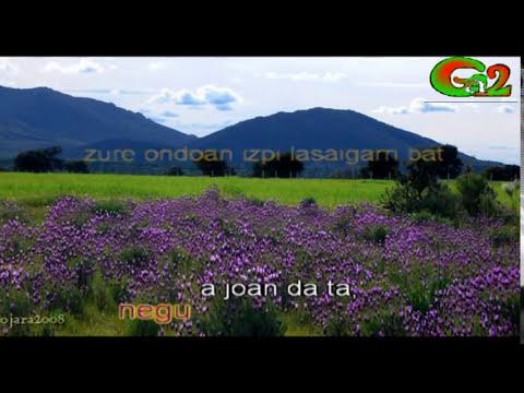 Negua joan da ta (Zea Mays)