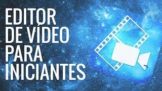 EDITOR SIMPLES PARA INICIANTES/ COMO EDITO MEUS VÍDEOS