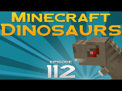 Minecraft Dinosaurs! - Episode 112 - Getting lost in a cave