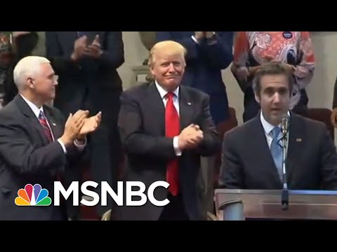 How Many Investigations Is Michael Cohen Helping Out? | Velshi & Ruhle | MSNBC