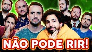 NÃO PODE RIR! com EM PÉ NA REDE (Murilo Couto, Victor Camejo, Rominho Braga e Osmar Campbell)