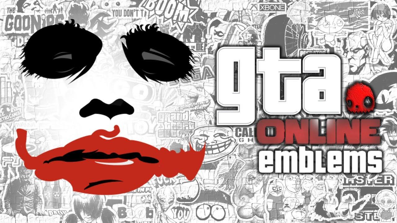 Crew Emblem Ideas Joker Custom Crew Emblem