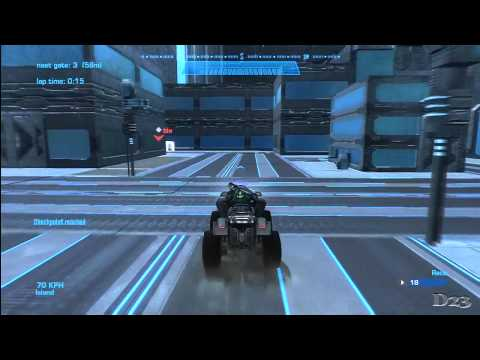 "Halo Reach Racetrack Reviews - Episode 17 - ""City Center"" by"
