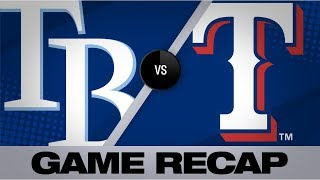 Odor's 3-run homer lifts Rangers to victory | Rays-Rangers Game Highlights 9/11/19