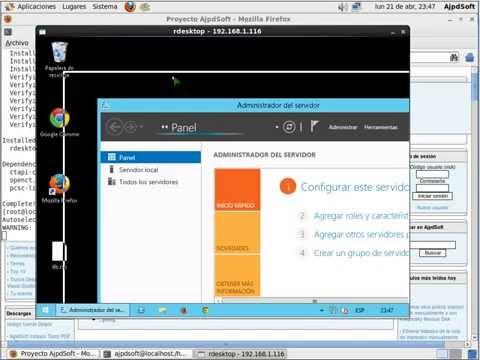 Control remoto de Linux a Windows con rdesktop gratuito
