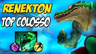 11/0 - O REI DA TOP LANE - RENEKTON TOP GAMEPLAY -  LEAGUE OF LEGENDS