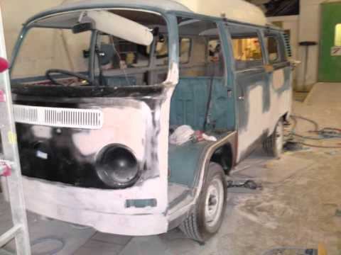 Vw Camper Restoration 1972 Bay Window Youtube