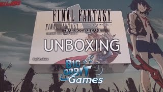 Final Fantasy TCG: Opus I (1) Booster Unboxing