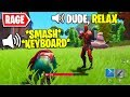 I Pretended to RAGE and BREAK My Computer in Fortnite