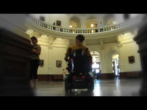 Zach Anner Rolls Over Austin Part I: Texas State Capitol