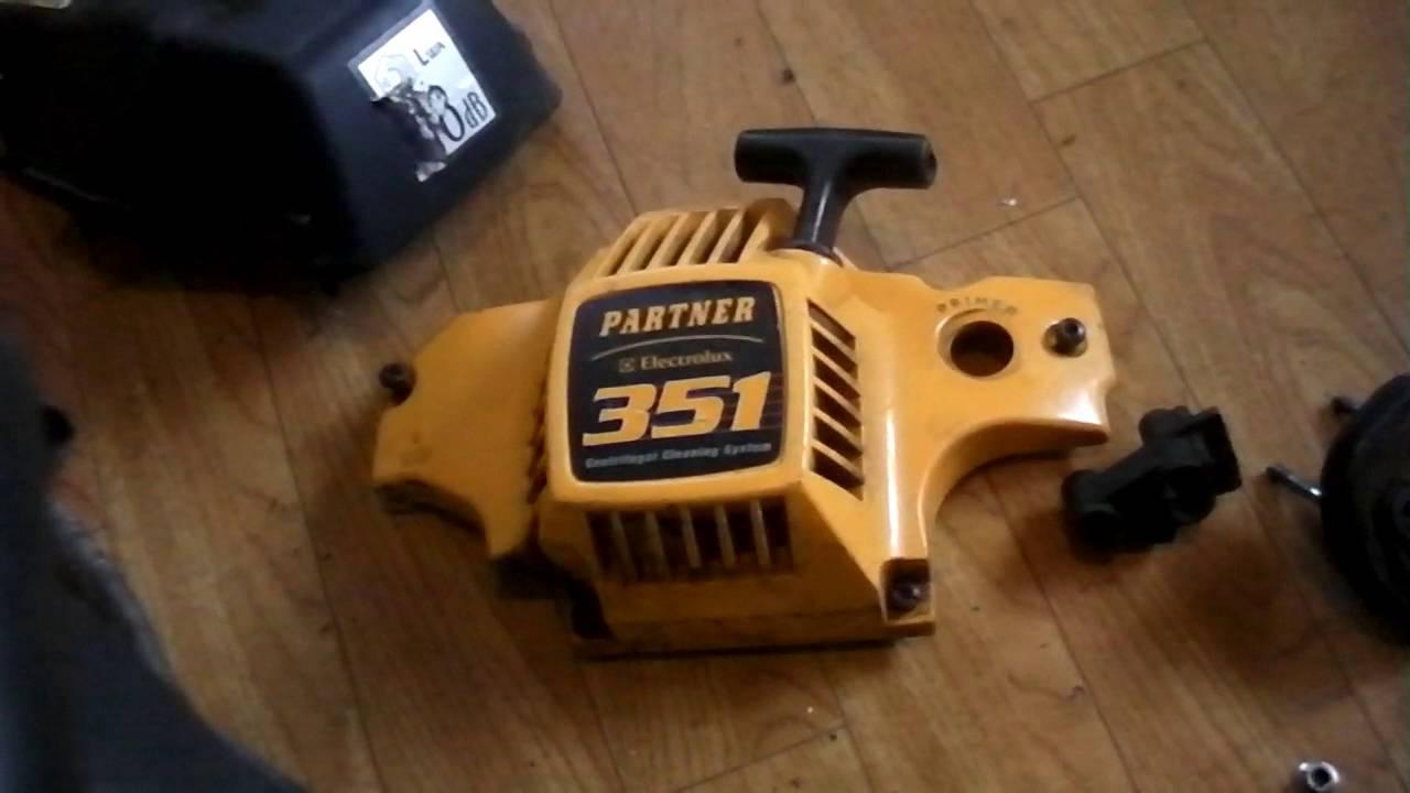 Бензопила партнер 350 s ремонт своими руками 43