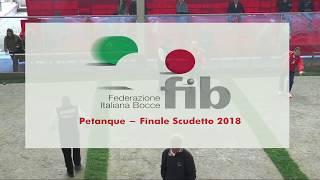 Finale Scudetto 2018 - Petanque