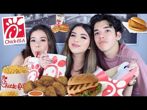 CHICK FIL A MUKBANG (Eating Show) FT. YOANDRI & DANIELLA VENUS