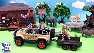 Schleich Wild Life Animals Surprise Toys Advent Calendar - Learn Animal Names