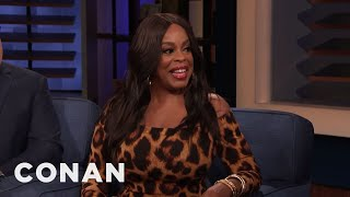 Niecy Nash Used Her Mature Voice To Get Out Of School - CONAN on TBS