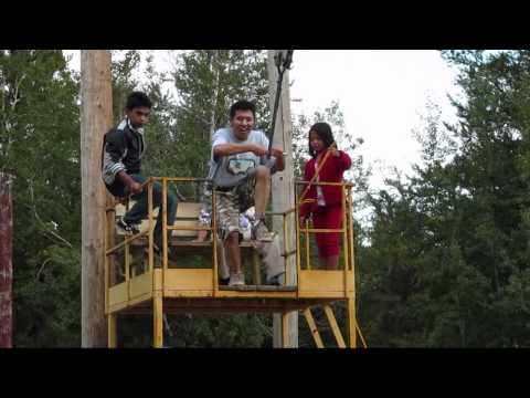 "Nipawin District Regional Park ""Swing rope"" 2010 Part 1"
