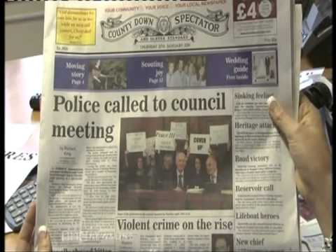 NI News - The North Down Borough Council Peace Three debacle.