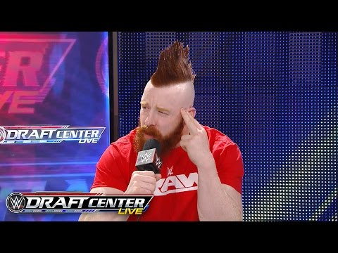 Sheamus joins the WWE Draft Central panel to discuss being drafted to Raw: July 19, 2016