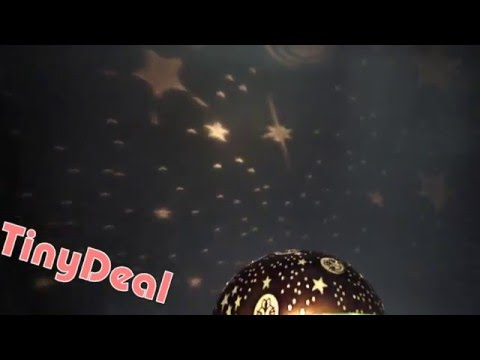 Romantic Star Sky Rotating Projector Night Light