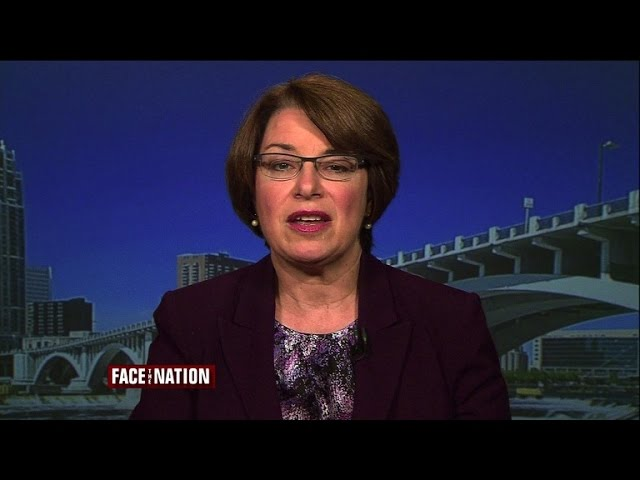 Klobuchar: Democrats waiting to see what's in Iran deal