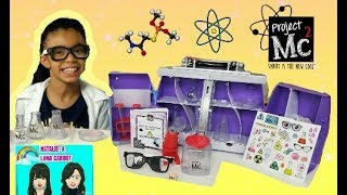 PROJECT MC2 ULTIMATE LAB KIT EXPERIMENTS PROJECT MC2 LAB KIT SCIENCE BAG REVIEW & UNBOXING.