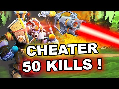 TINKER CHEATER: 50 KILLS! Valve FIX IT PLS!
