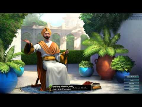 Civilization V OST | Harun al-Rashid Peace Theme | Thikriati; Hijaz Maqam