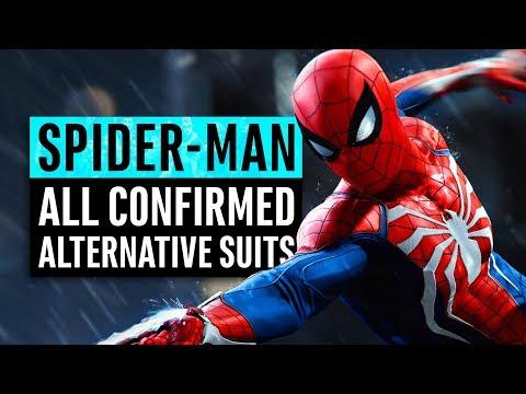 Spider-Man   7 Alternative Suits Confirmed & Their Origins
