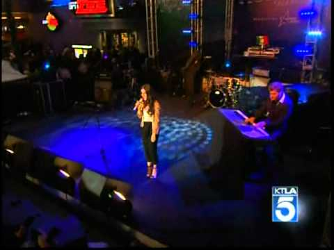 Jessica Lowndes sings, 