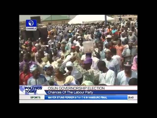 Politics Today: I will Win Osun State Governorship Election -- Akinbade Part1
