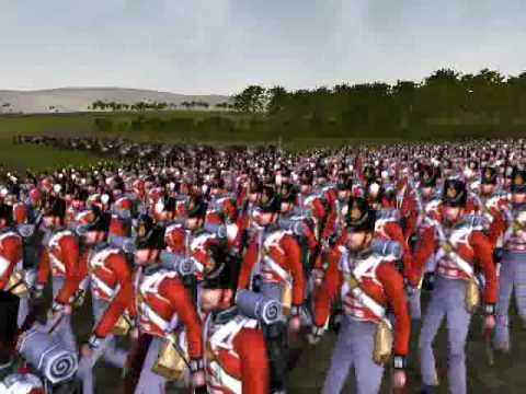 Wellington's Army marching for Madrid 1812_1: THE BRITISH