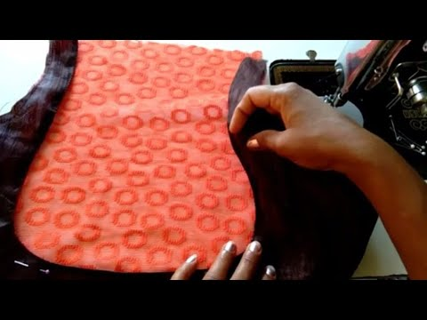 EASY DESIGNS BLOUSE CUTTING and STITCHING AT HOME ll New Fancy Design Blouse Cutting at  Home