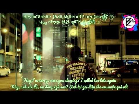 [mbfvn][kara+han+eng+viet] Just Friend - Boyfriend video