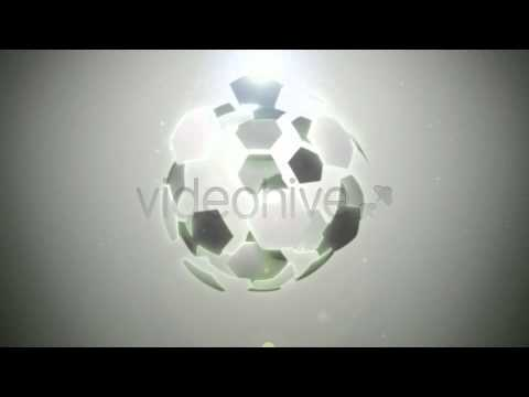 Football Soccer Sport Logo Reveal - After Effects Template Project Files