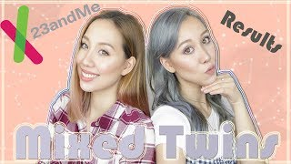 TWINS DNA TEST RESULTS (eurasian sisters) 💞| 23andme