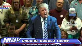 FNN: FULL Donald Trump Rally Fort Dodge, Iowa Nov. 12