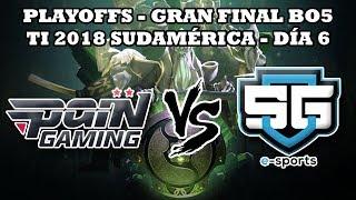 Regionales SA TI 2018: Día 6 - Pain Gaming vs SG e-sports GRAN FINAL BO5