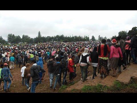 Ethiopia Protests In Oromia Region (video Mashup)