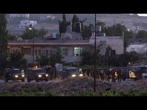Israel entierra a los tres jóvenes asesinados en medio de peticiones de venganza