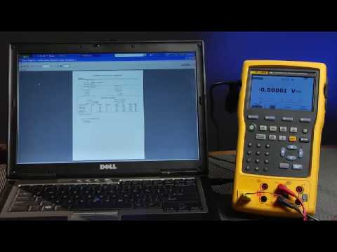 Getting started with DPCTrack2 software, Uploading and downloading to the Fluke-754 DPC