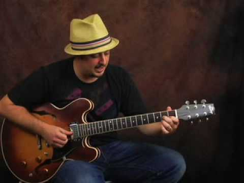 Funk R&B Rhythm playing electric guitar lesson funky blues Video