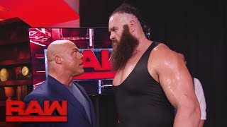 Braun Strowman wants The Shield: Raw, Oct. 9, 2017