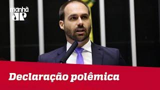 Eduardo Bolsonaro defende Brasil com armas nucleares