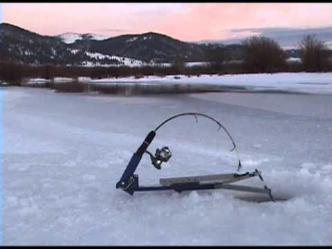Jaw jacker how to save money and do it yourself for Jaw jacker ice fishing