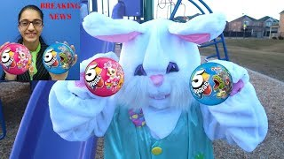 Easter Egg Hunt 5 Surprise Toys Challenge for Kids Pretend Play