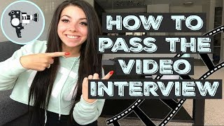 HOW TO PASS THE FLIGHT ATTENDANT VIDEO INTERVIEW