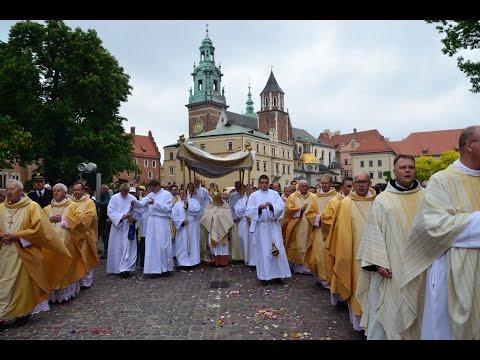 Uroczystość Bożego Ciała W Krakowie A.D. 2016